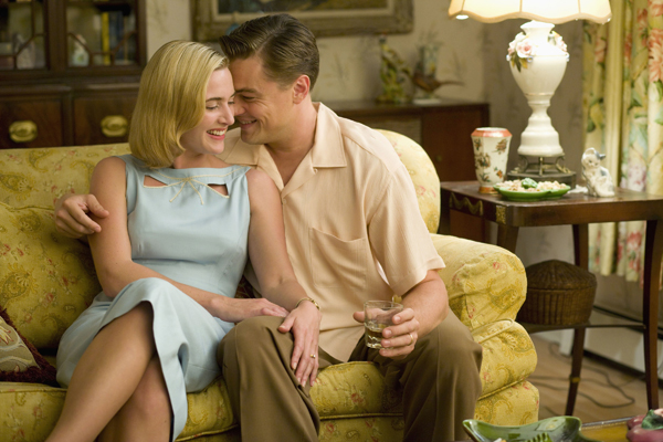 Leonardo DiCaprio and Kate Winslet Revolutionary Road movie image